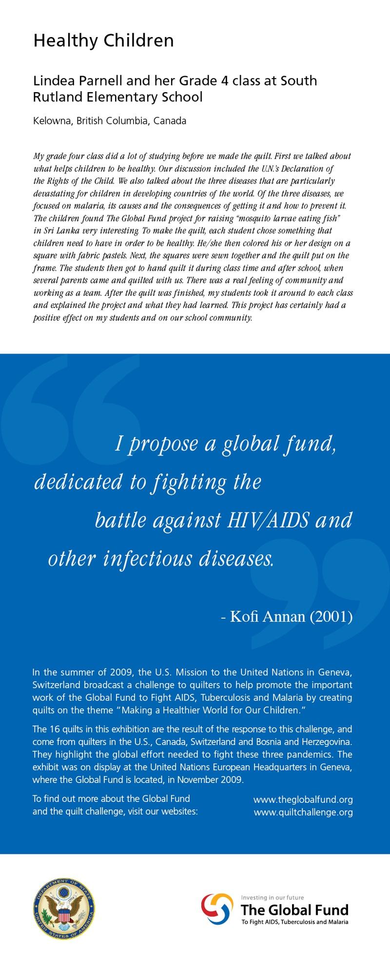Global Fund Panel 1